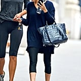 Ashley Olsen wore workout gear in NYC.