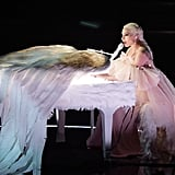 Lady Gaga's Pink Performance Dress at the Grammys 2018