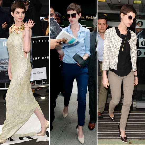 Anne Hathaway's Week in Chic: Snoop Her Best Looks from the Dark Knight Rises Press Tour!