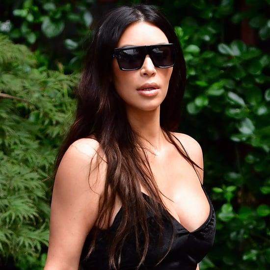 Kim Kardashian Black Chanel Bikini