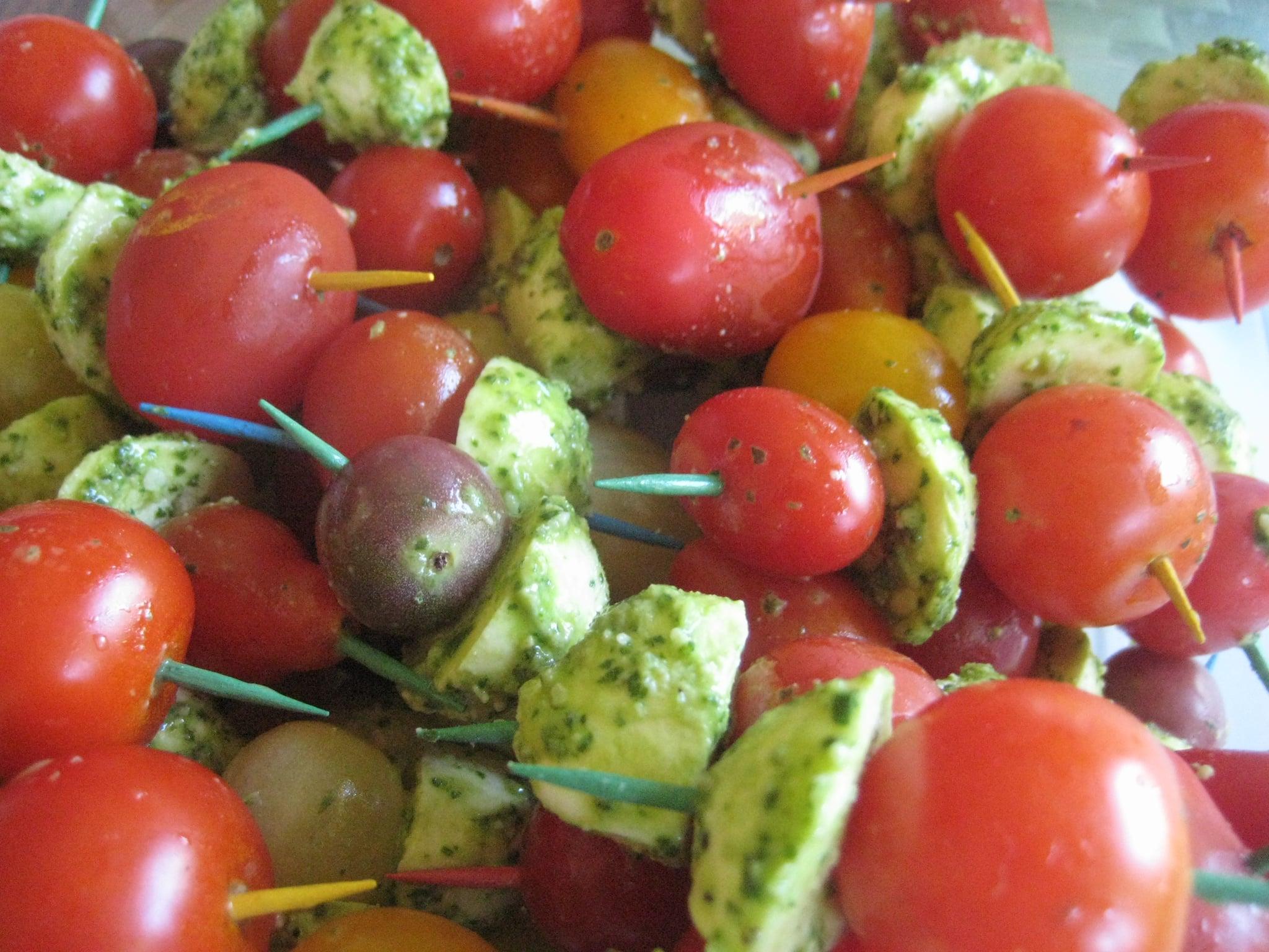 A Perfect Summer Bite: Caprese Skewers | POPSUGAR Food
