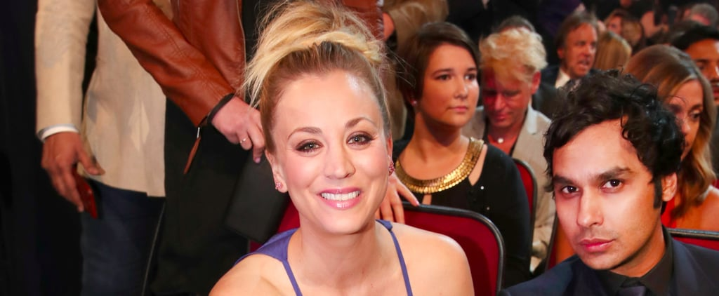 Kaley Cuoco's Stylists Made a Major Mistake Before the People's Choice Awards
