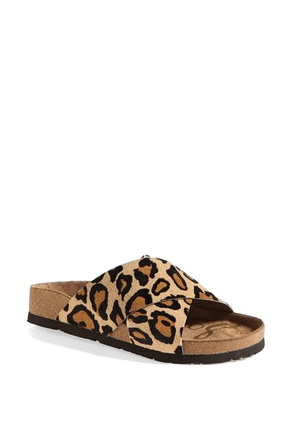 Sam Edelman Animal-Print Sandals