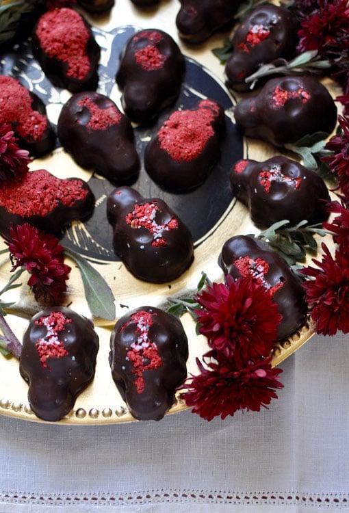 Strawberry Chocolate Calaveras