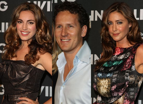 Photos Of Strictly Come Dancing's Brendan Cole, Kelly Brook And Lisa Snowdon At Living TV's Party