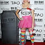 Bethenny Frankel donned Hello Kitty gear for Heidi Klum's 2011 Las Vegas party.