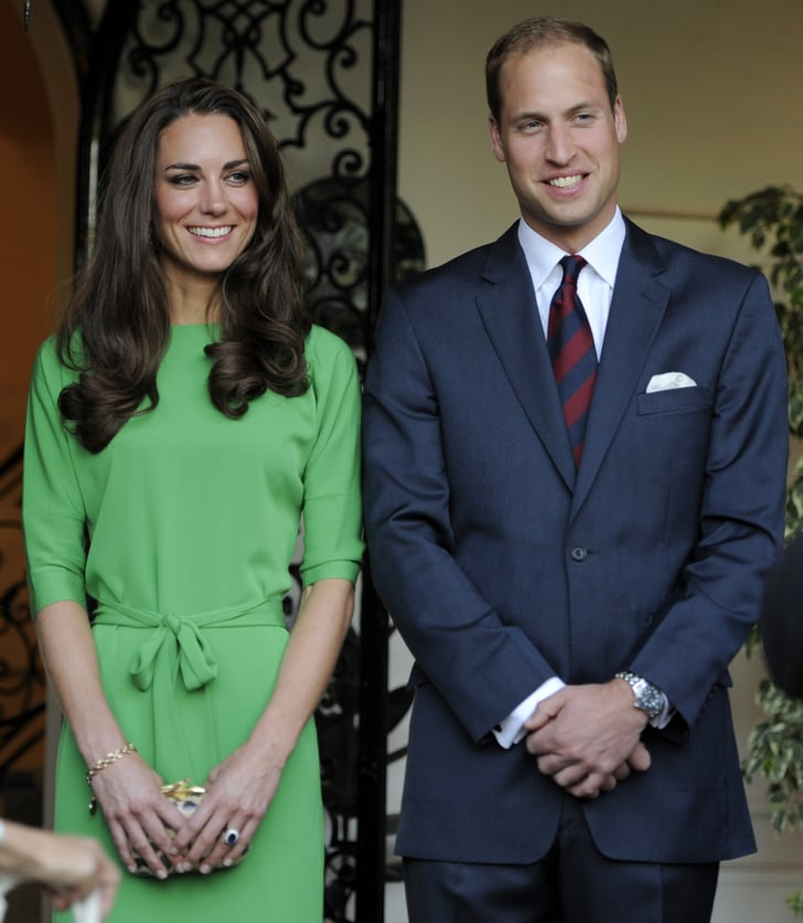 Kate Middleton and Prince William in LA.
