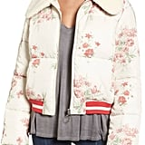 Tularosa Mellow Moves Puffer Jacket With Removable Faux Shearling Collar