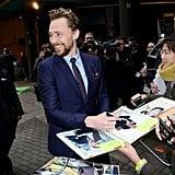 Pictured: Tom Hiddleston.