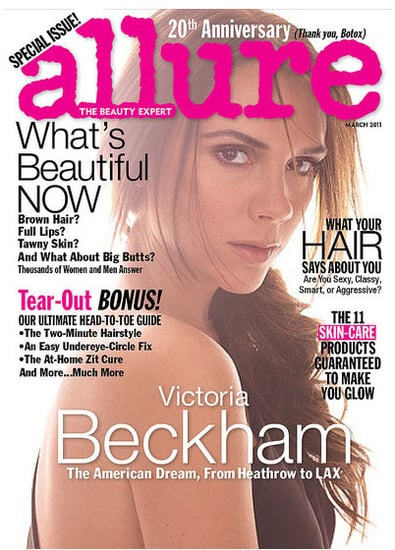 Victoria Beckham is Allure's March 2011 Cover Girl, Say She Does Smile and Isn't Worried About Ageing!