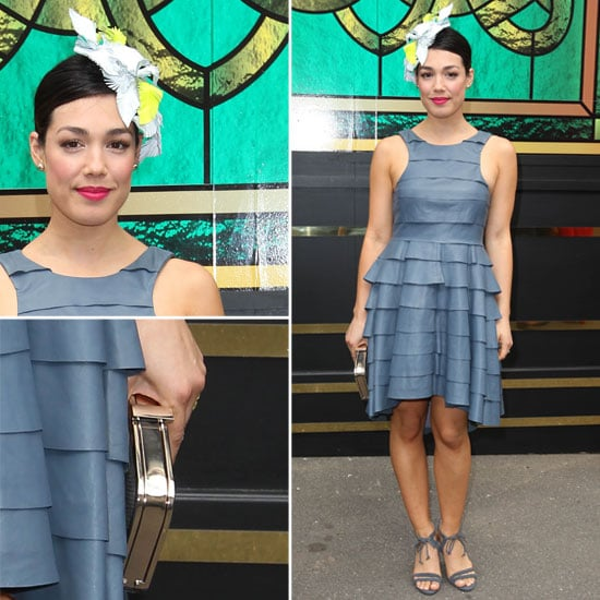 Melanie Vallejo in Camilla and Marc at 2012 Melbourne Cup