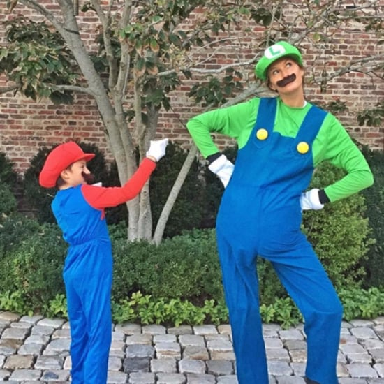 Gisele Bundchen and Son Benjamin's Halloween Costume 2016