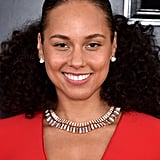 Alicia Keys's No-Makeup at the Grammys 2019