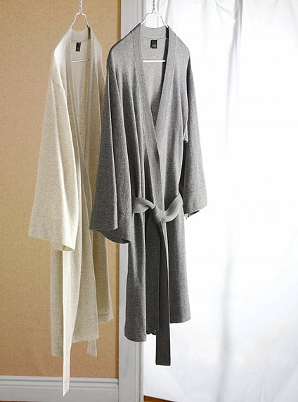 Slip Into a Short Robe For Visitors