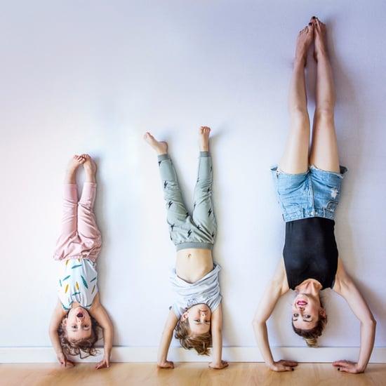 Defying Gravity Family Photo Shoot