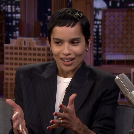 Zoë Kravitz Talks About Dad Lenny Kravitz's Wedding Speech