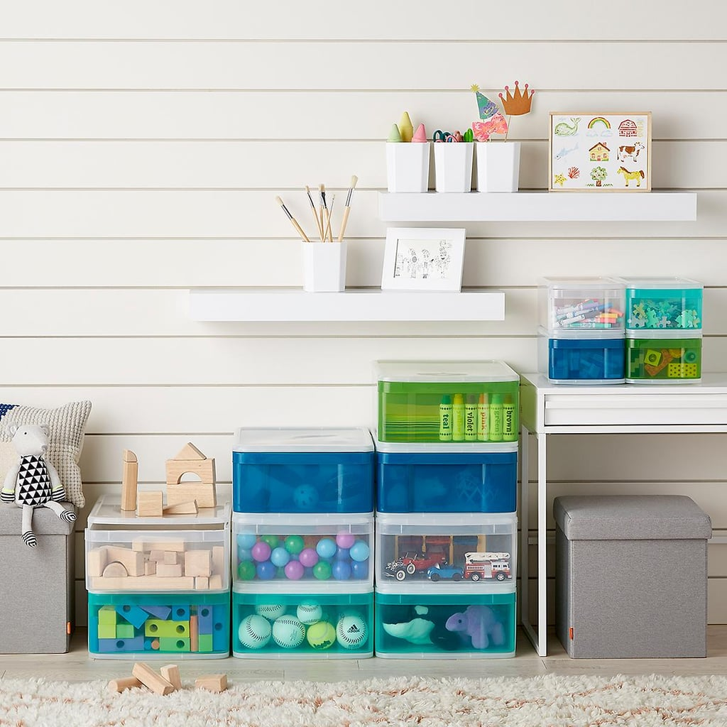 Large Tint Stackable Storage Drawers
