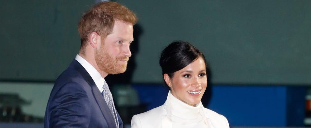 Prince Harry Meghan Markle Wider Earth Gala February 2019