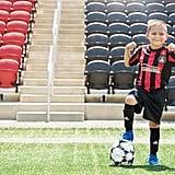 Andrew, 7, Soccer Player
