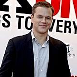 8. Matt Damon