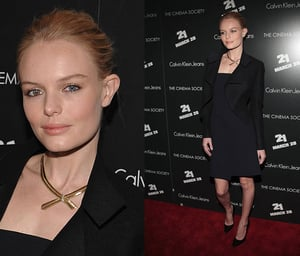 Kate Bosworth at NYC Premiere of 21 Movie in Calvin Klein