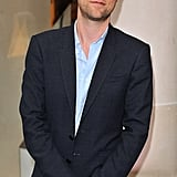 Christopher Bailey looked calm at the Burberry party.