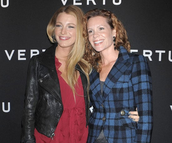 Slide Picture of Blake Lively and Robin Lively in NYC