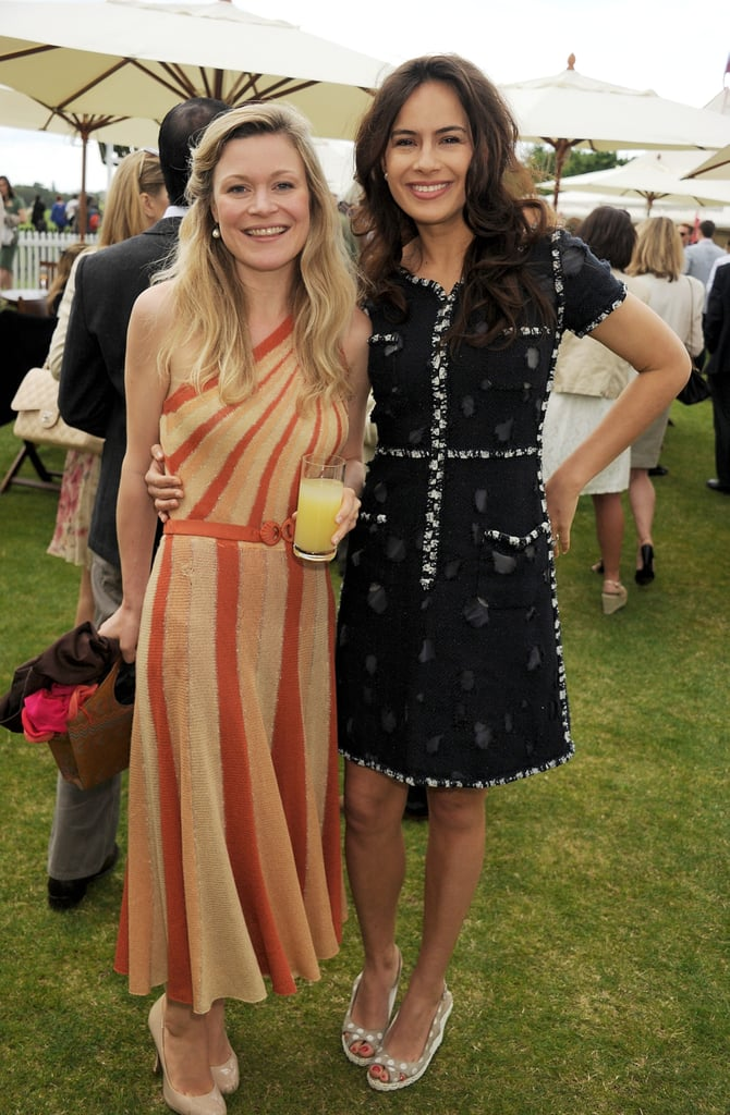 Sophie Winkleman at the Cartier Queen's Cup Polo Day in June 2012