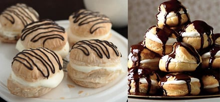 Cream Puffs Two Ways — Beginner and Expert