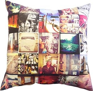 With Stitchtagram, you can turn an entire collection of Instagram snaps into a one-of-a-kind pillow ($68).
