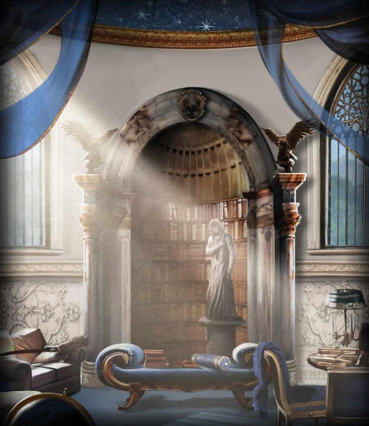 Ravenclaw Best Interior Decor For Each Hogwarts House
