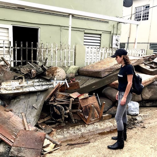 Bethenny Frankel in Puerto Rico For Hurricane Relief