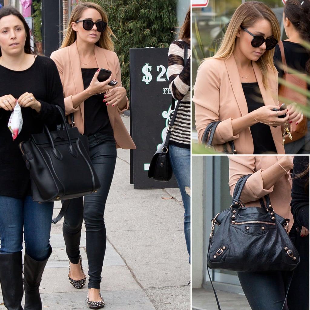 Lauren Conrad's Pink Blazer Outfit