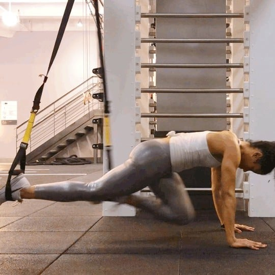 How to Do TRX Mountain Climbers