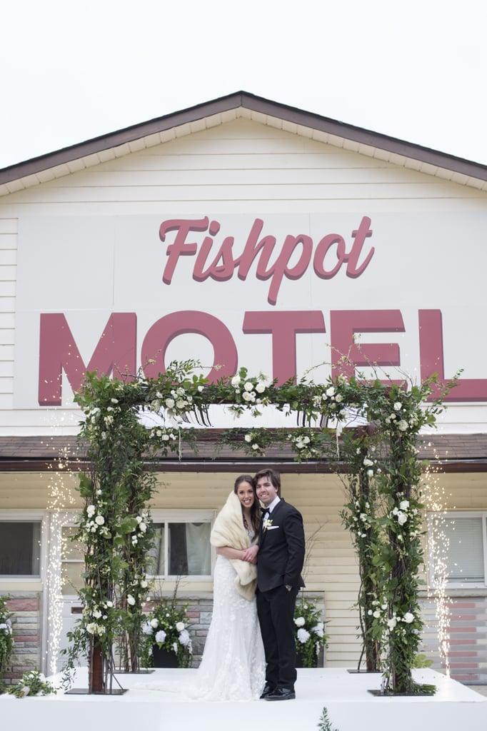 This Couple Got Married at Schitt's Creek's Rosebud Motel