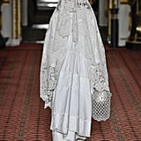 A White Gown and Lace Veil From the Simone Rocha Fall 2020 Runway at London Fashion Week