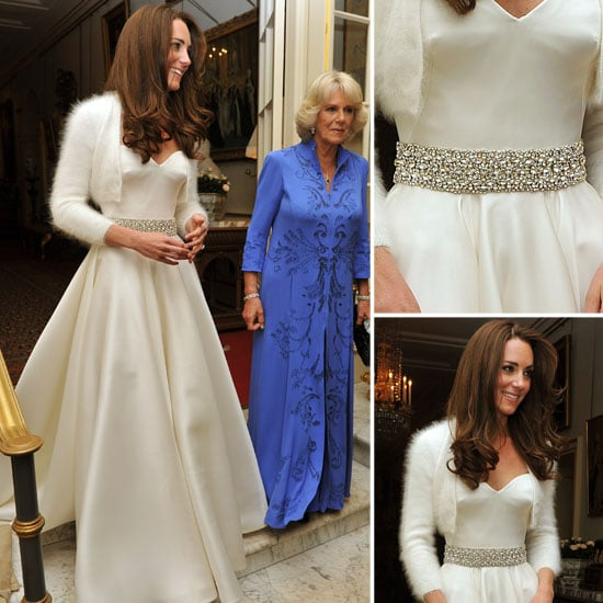 Kate Middleton's Reception Wedding Dress