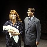 Princess Beatrice, August 1988