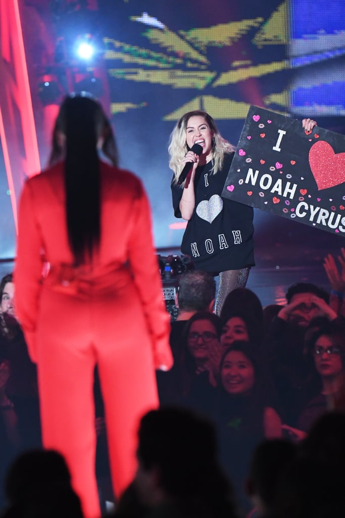 No One Was More Excited For Noah Cyrus's Award Show Debut Than Big Sis Miley