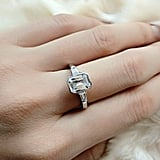Shop Emerald Cut Engagement Rings