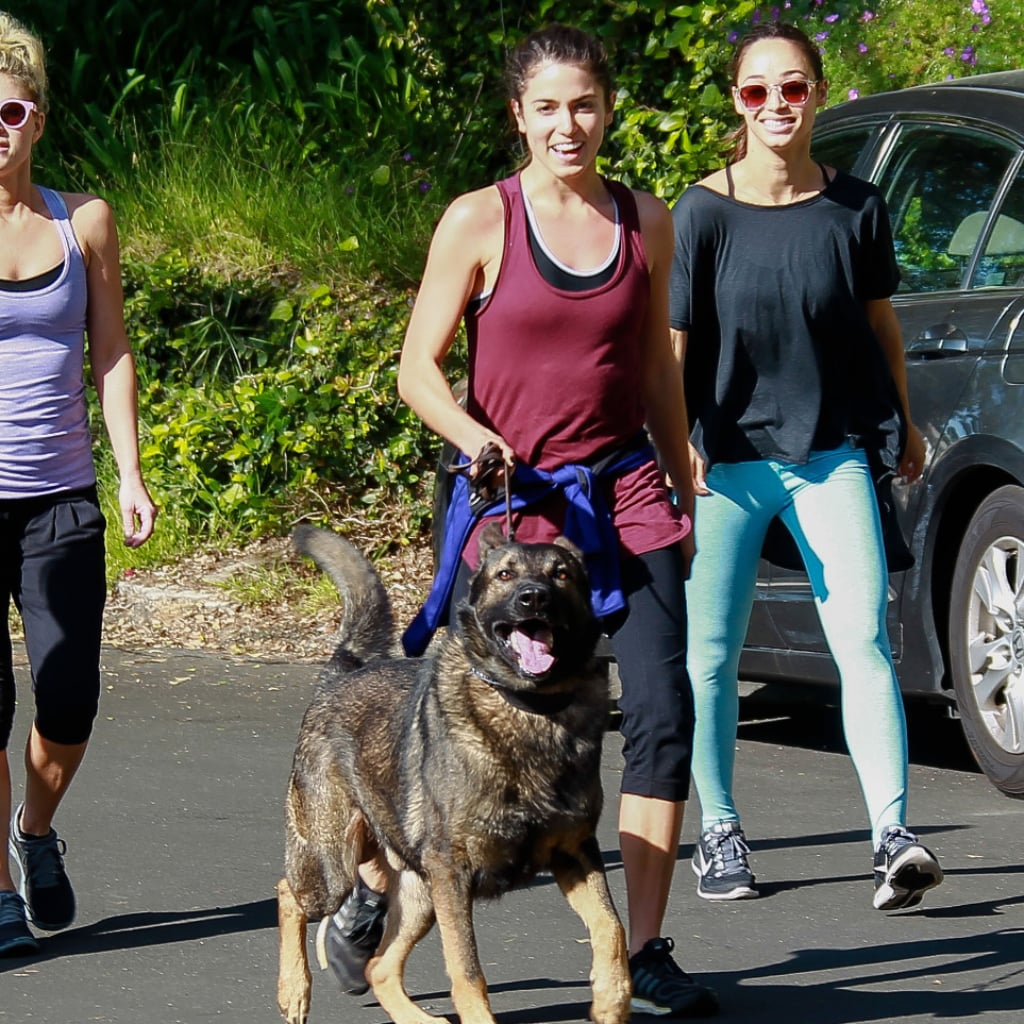 Pictures of Celebrities Exercising | Week of April 11, 2014