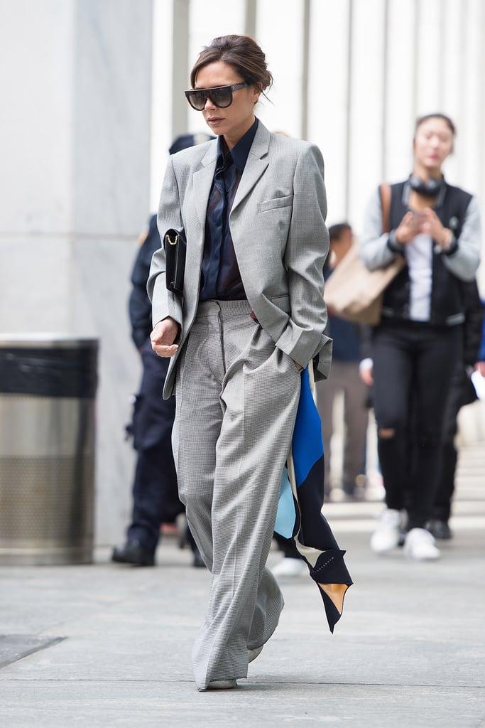 Victoria Beckham's Way: Let It Hang and Tie It Through Your Belt Loop