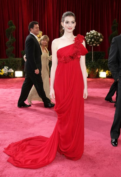 Anne Hathaway at the 2008 Academy Awards