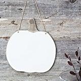 White Pumpkin Hanger