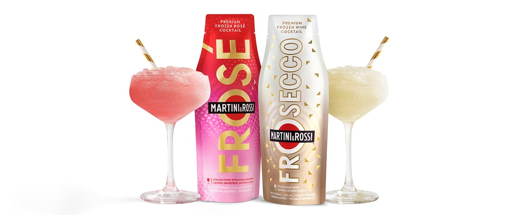 Martini & Rossi's Premade Frosé and Frosecco Are Only $4