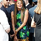 Anna Dello Russo at the Men's Spring 2013 shows in Milan.
