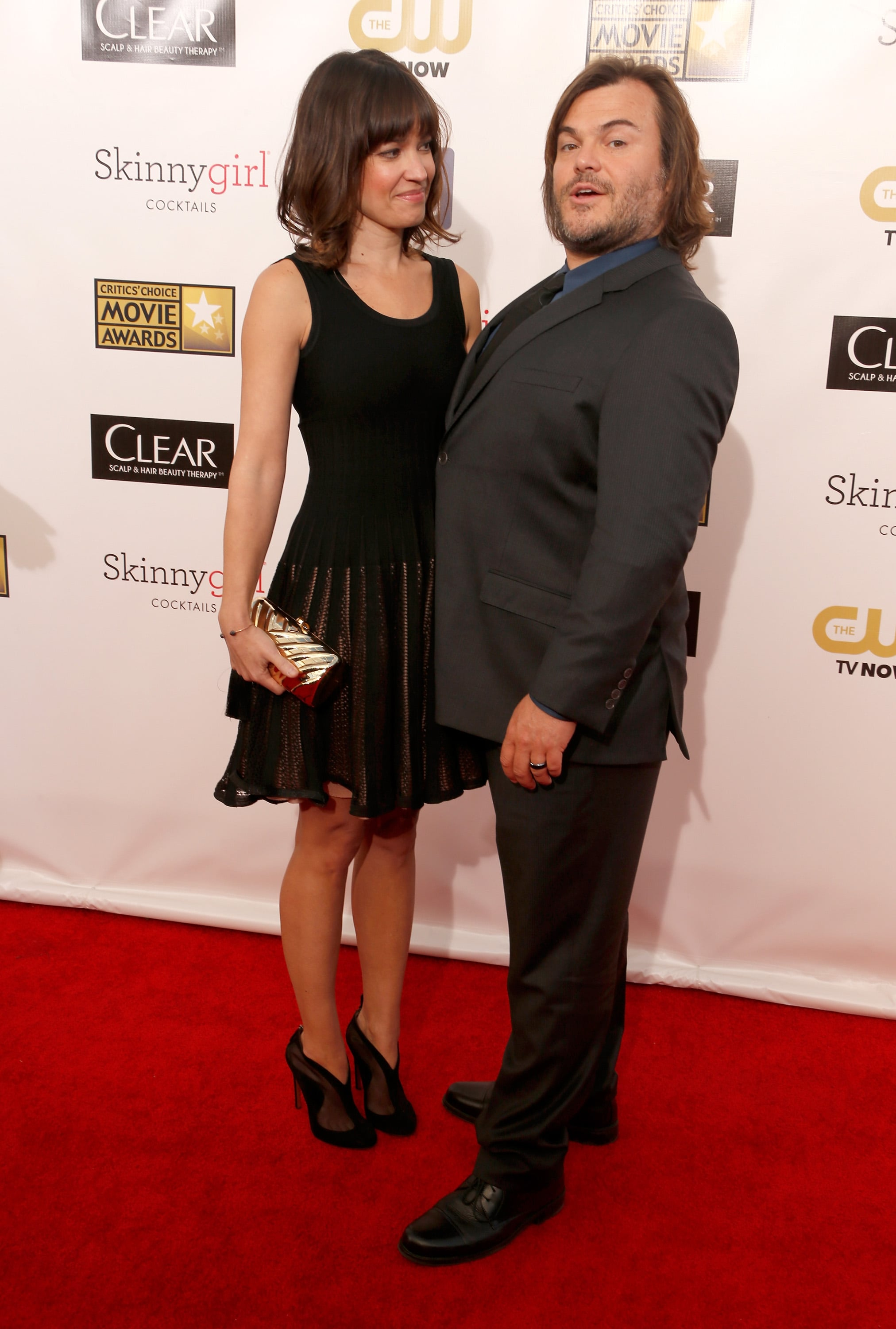 Jack black and tanya haden celeb couples are too cute at the critics