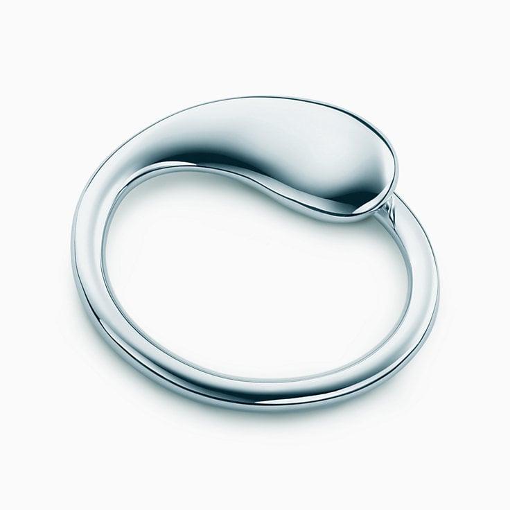 Tiffany & Co. Elsa Peretti Eternal Circle Key Ring