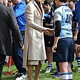 Princess Charlene and Family at Rugby Tournament Monaco 2017