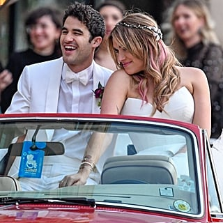 Darren Criss and Mia Swier Wedding Pictures